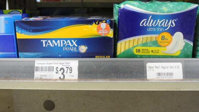 """A proposal to include feminine hygiene products during Tennessee's sales tax holiday is the latest evolution of a push to eliminate the so-called """"tampon tax"""" on items such as tampons and menstrual pads."""