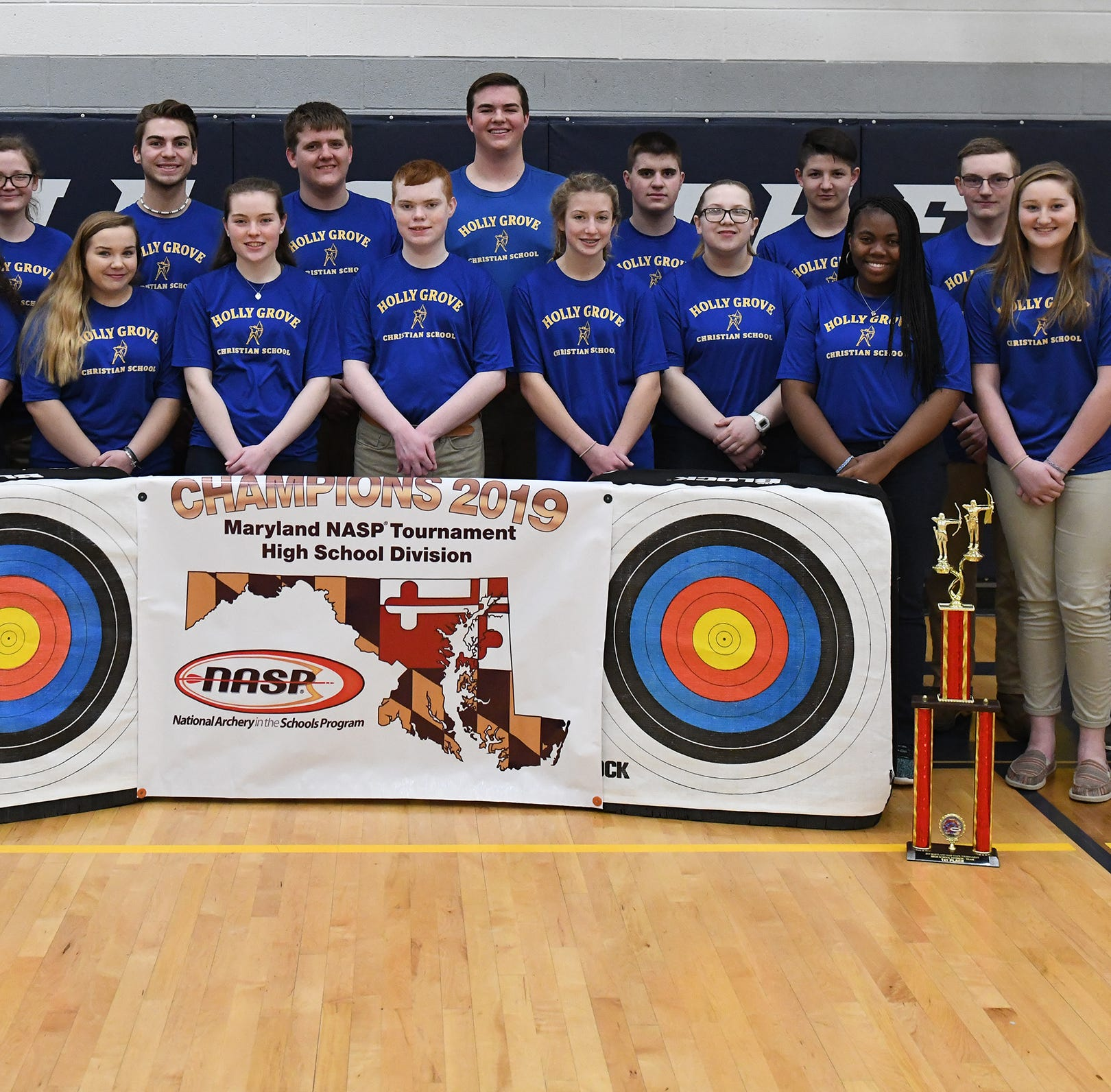 Holly Grove archery hits target with another state championship
