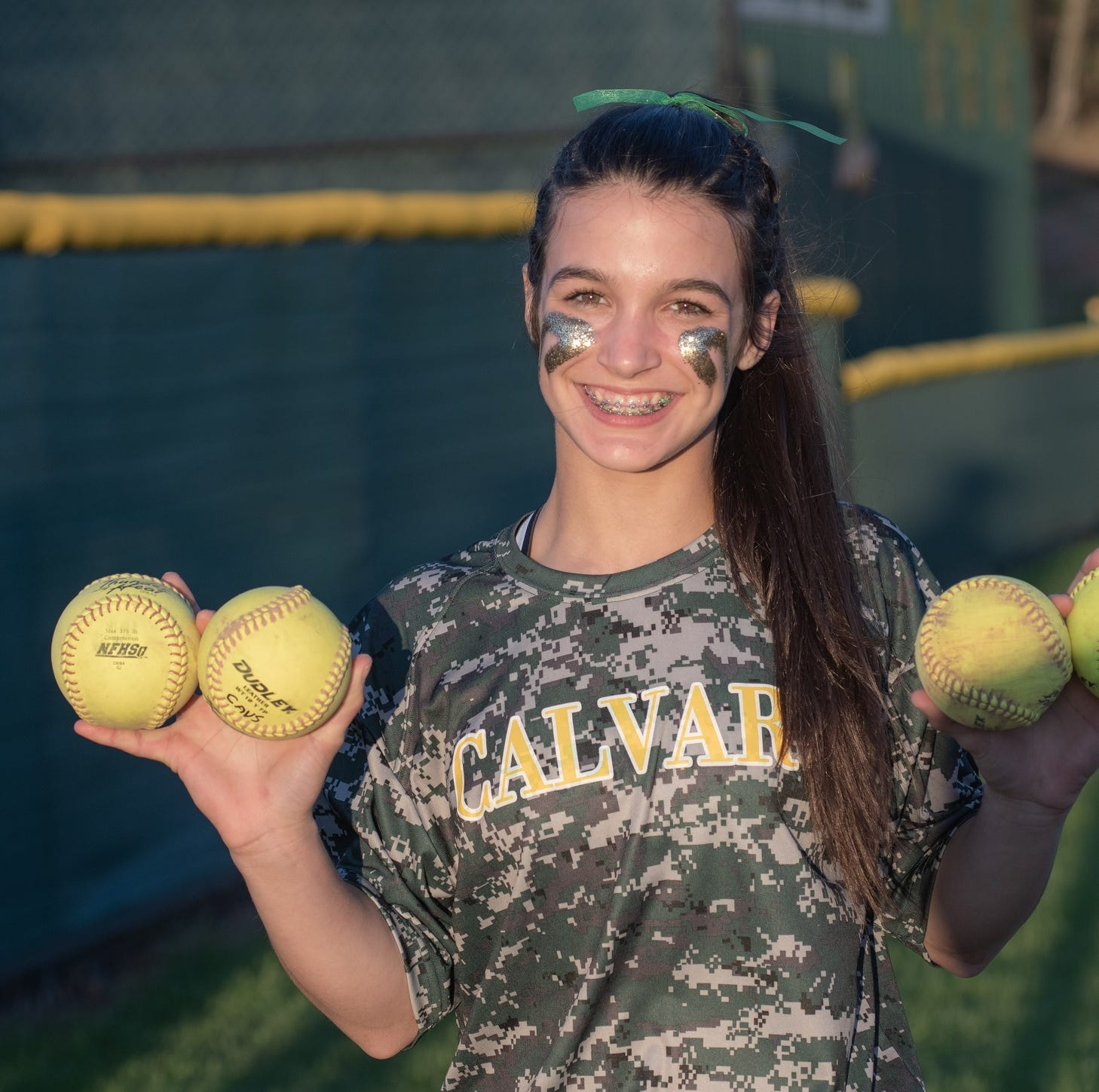 Softball phenom: Calvary youngster sends balls downtown