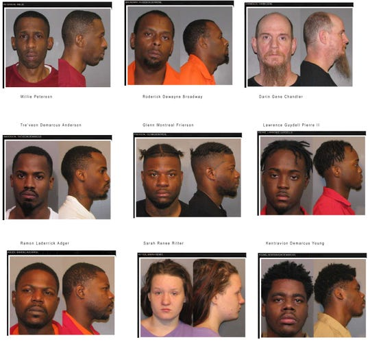 Caddo Parish indictments