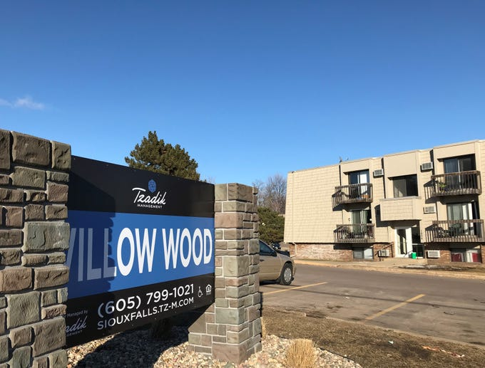 The Willow Wood apartment complex, located in the 1600 block of S. Rock Creek Drive, acquired by Miami-based Tzadik Management.
