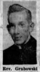 Robert L. Grabowski was pictured in the April 24, 1955 edition of the Argus Leader after he was ordained as a Catholic priest in Sioux Falls.