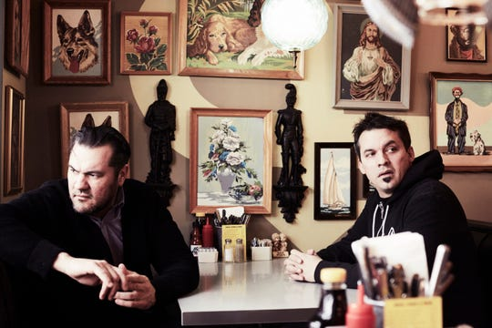 Hip-hop duo Atmosphere is performing at Wooly's on Friday night.