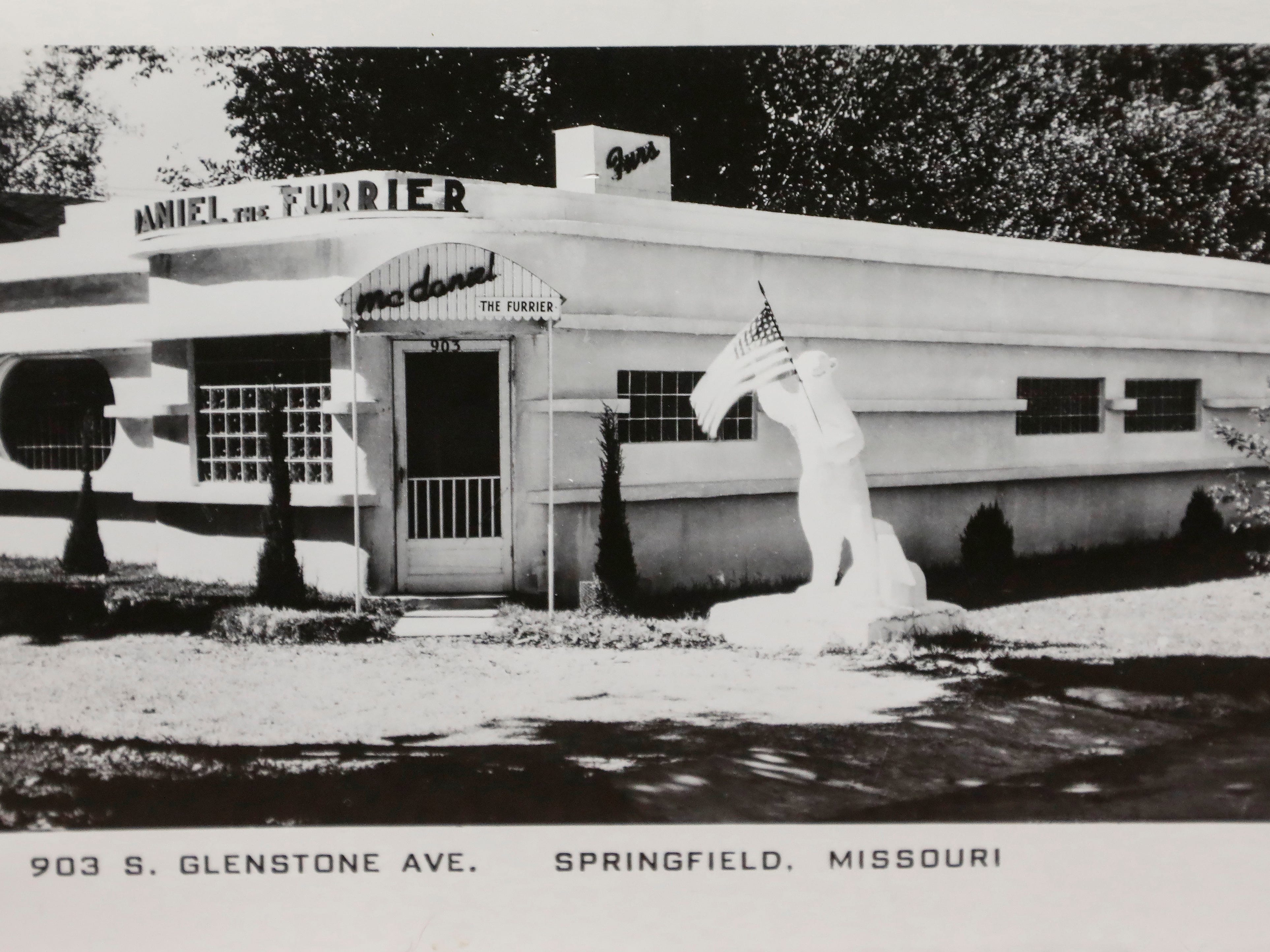 An photograph of McDaniel Furs, located at 901 S. Glenstone Ave.