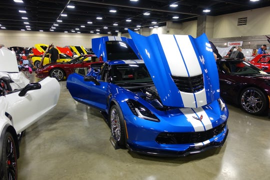 Admission to the indoor Corvette show is included with your Sip the Ozarks ticket.