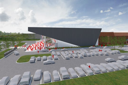 A performing arts center is planned as part of the proposed Nixa bond, levy on the April 2 ballot