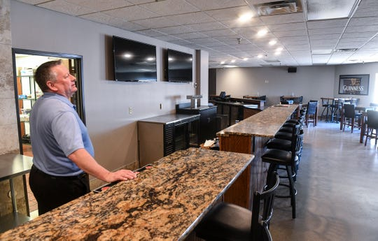 Owner Craig Weaver talks about his plans for the new Midtown Bar & Grill Thursday, March 21, in St. Cloud. The new business is scheduled to open April 1.