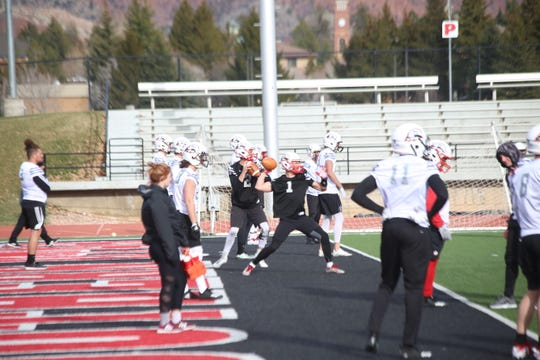 SUU played four different quarterbacks last season, when starter Chris Helbig was lost for the season with an injury.