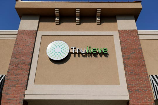 The first smokable medical marijuana sold in Florida was purchased at Trulieve on Capital Circle near Park Avenue in Tallahassee Thursday, March 21, 2019.