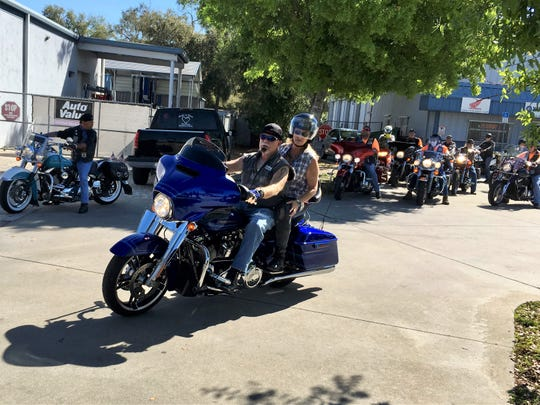 Treasure Coast Community Health kicked off its2019 fundraising season with an inaugural Kruise for Kids Poker Run. The day began at TCCH's center on Oslo Road andended at the Walking Tree Brewery.