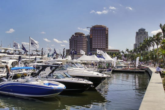 The 2019 Palm Beach international Boat Show will run March 28-31 along Flagler Drive in downtown West Palm Beach.