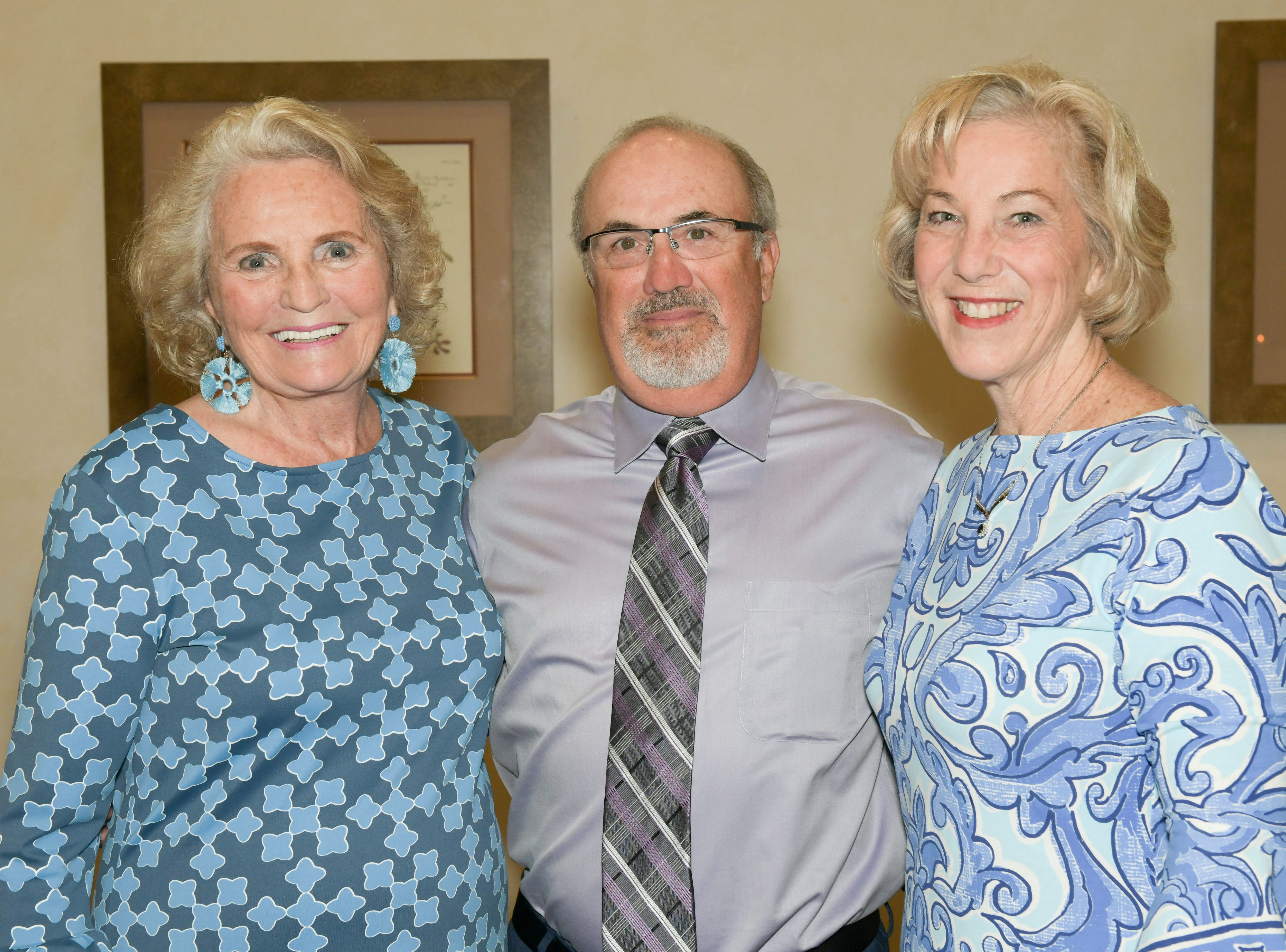 Donna Robart, Michael Coburn and Diane Ludwig