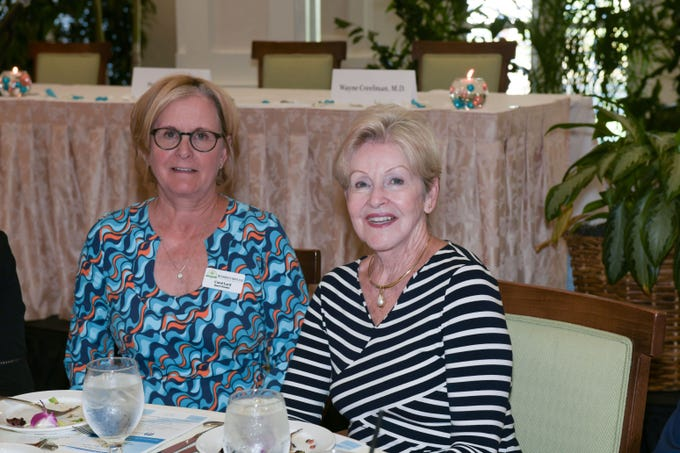 Carol Lord and Joyce Donahue