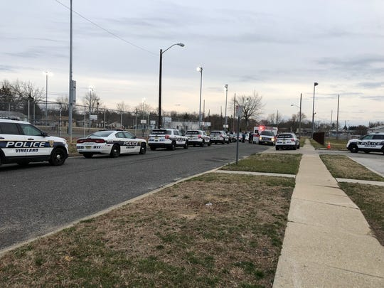 Reports of an altercation in the area of Normandie Lane, just off Chestnut Avenue, resulted in a large-scale police response. March 20, 2019.