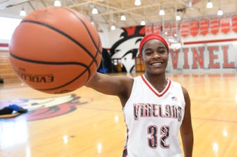 Vineland's Briel Herbert talks about highlights from the season and being chosen as The Daily Journal Girls' Basketball Player of the Year.