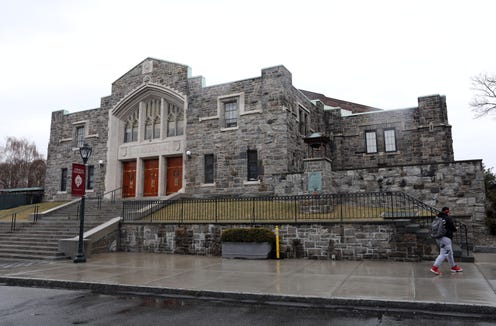 Rose Hill Gym at Fordham University in the Bronx March 21, 2019, where the Federation Tournament of Champions will take place next year. Fordham University men's basketball assistant coach Mike DePaoli, a North Salem grad, was integral in bringing the Federation Tournament of Champions to New York City from Glens Falls.