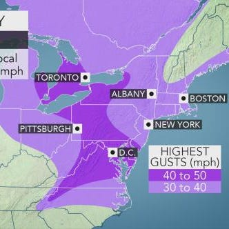 Weather: Rain, snow, wind could usher in spring