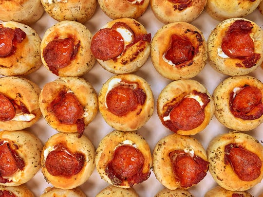 New Pizza cupcakes at CitiField.