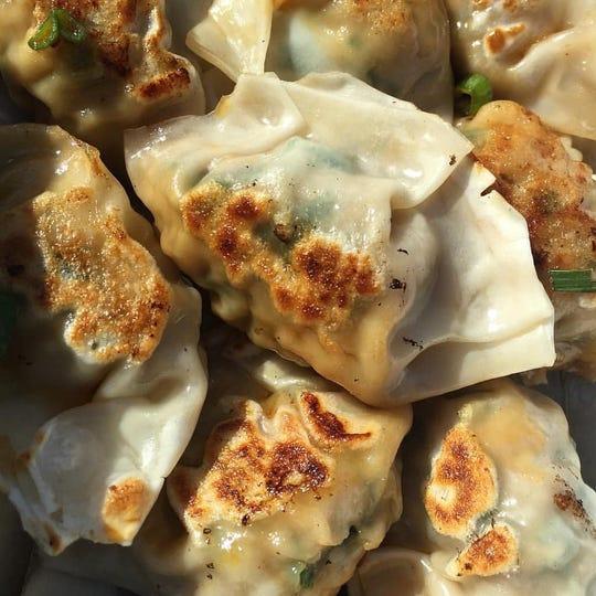 Dumplings from Destination Dumplings at Citi Field.