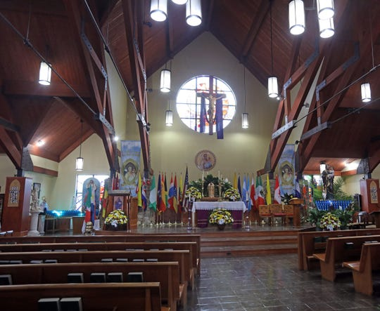 St. Joseph's Church, which has a diverse congregation from the Caribbean, Central and South America, will mark its 125th anniversary with a variety of celebrations in the coming months. A view of the sanctuary of the church in Spring Valley March 21, 2019.