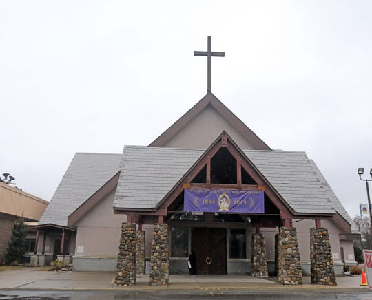 St. Joseph's Church, which has a diverse congregation from the Caribbean, Central and South America, will mark its 125th anniversary with a variety of celebrations in the coming months. A view of the church in Spring Valley March 21, 2019.