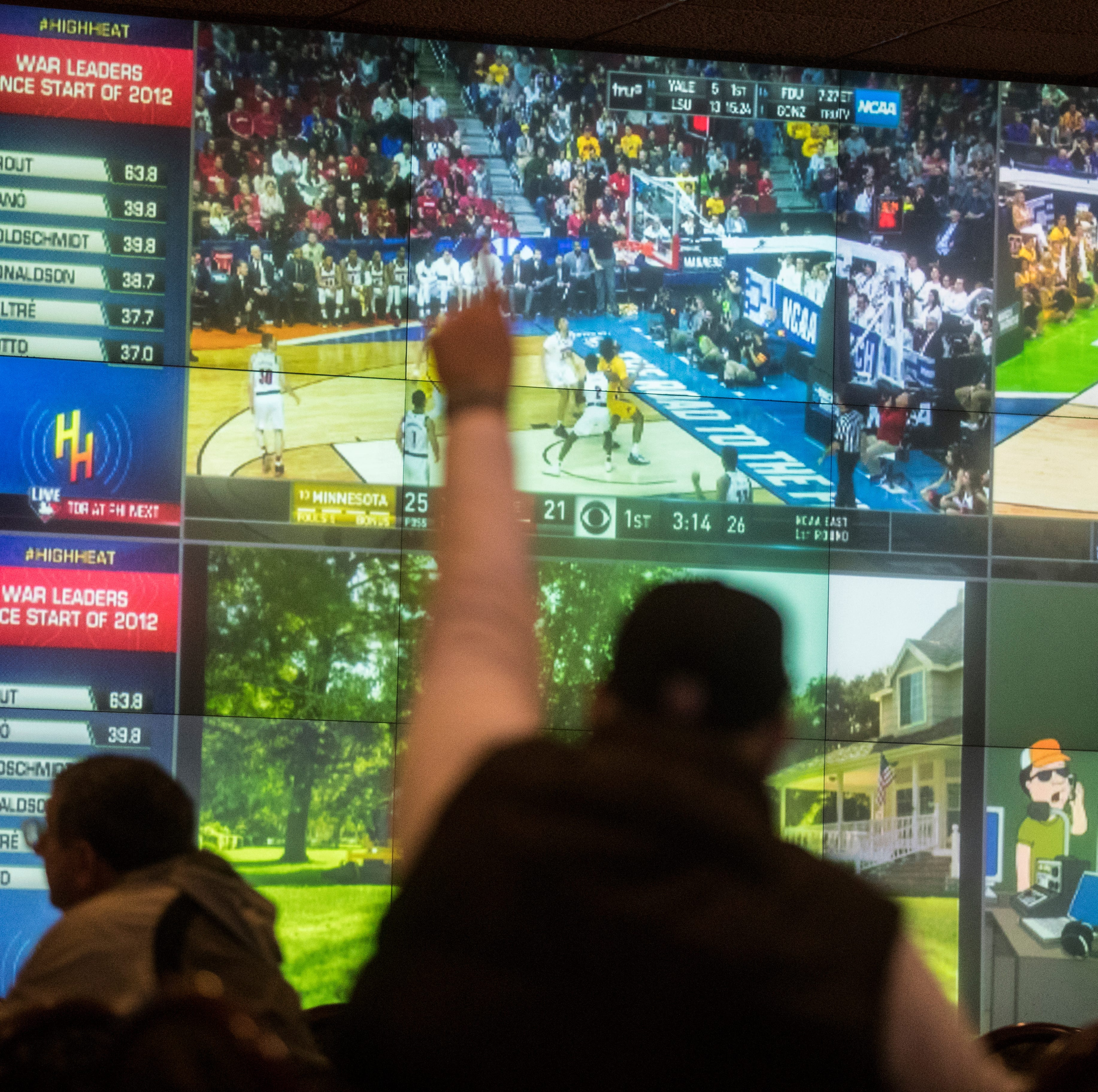 No need for Vegas: NCAA Basketball Tournament brings bettors to Delaware Park