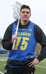 Delaware lacrosse goalie Matt DeLuca makes the most of his size, and at 6 feet 6 inches, he's got a lot of size to work with. The junior is among Division I leaders in key goalkeeper stats.