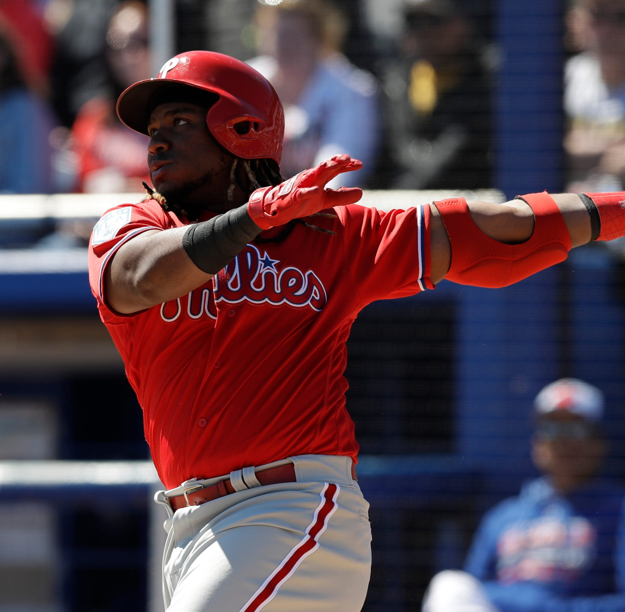 In Phillies' lineup, Maikel Franco brings power — and patience — to No. 8 spot