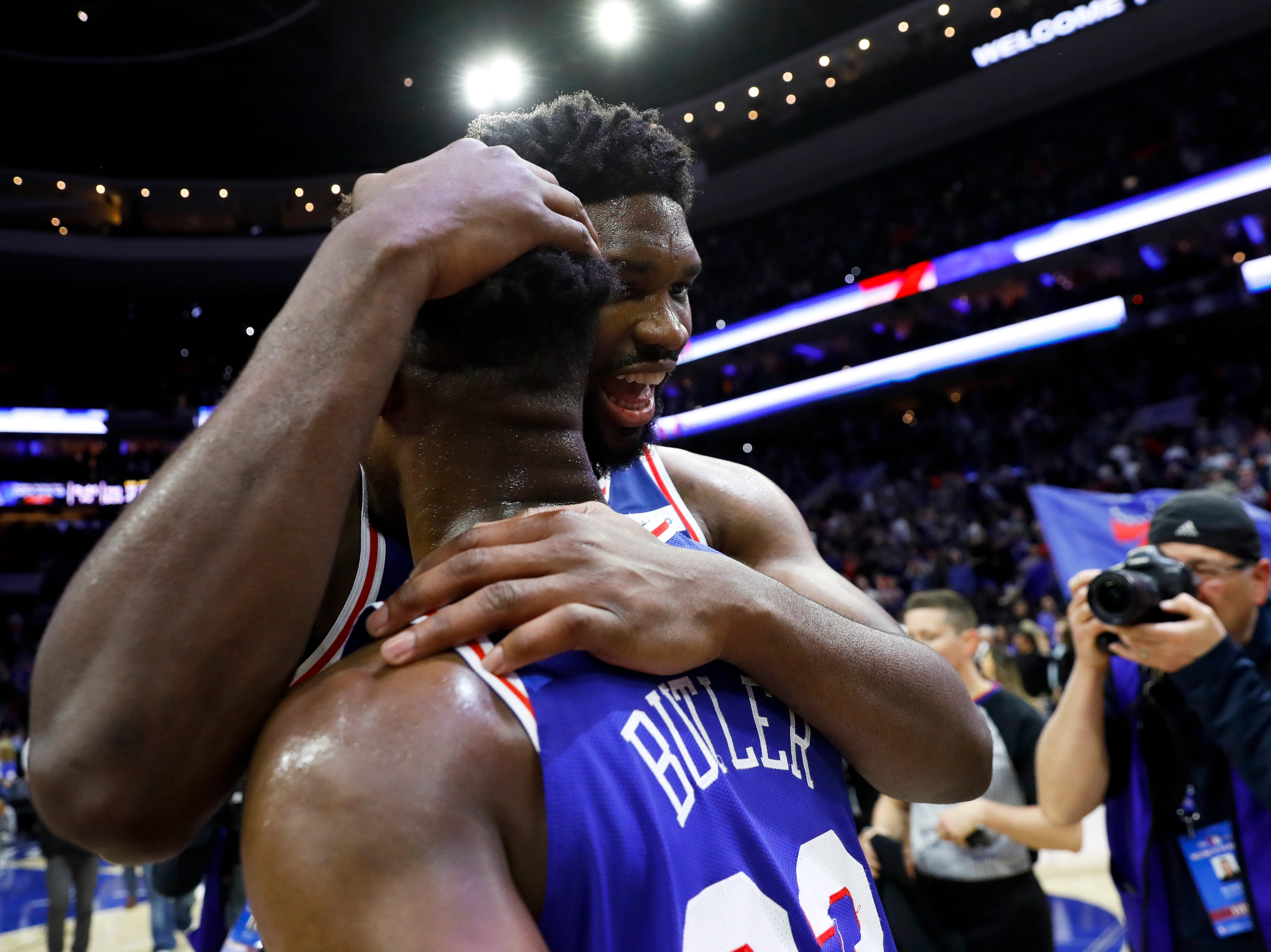 Sixers do more than show fight against Celtics: Embiid takes a swing, Butler knocks them out