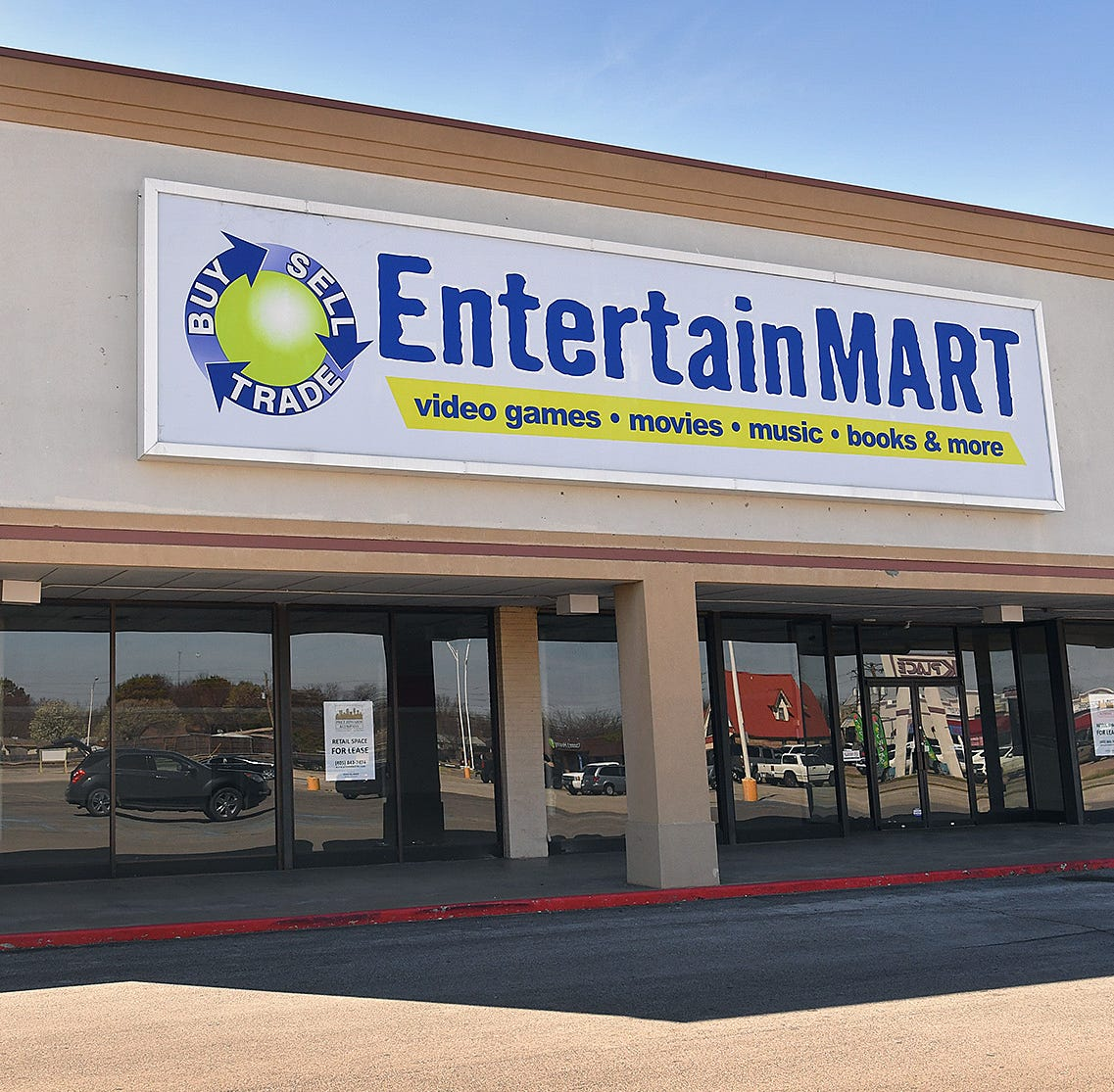 Is a new entertainment retailer coming to Wichita Falls near the old Hastings location?