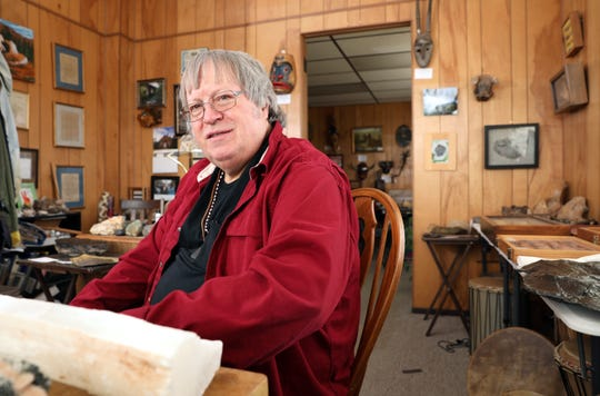 Gary Felumlee owns Felumlee's Timeless Treasures, which is part museum, part curiosity shop, part antique store. After a career in education, he opened the store in the Masonic Temple in downtown Zanesville.