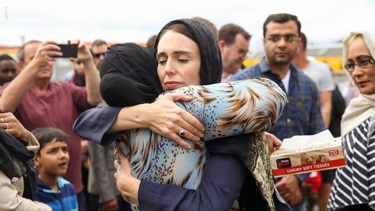 California mosque arson suspect left graffiti about New Zealand attack, police say
