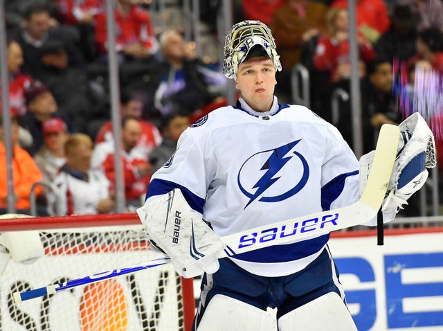 e00948b512f NHL  Andrei Vasilevskiy makes 54 saves as Lightning beat Capitals