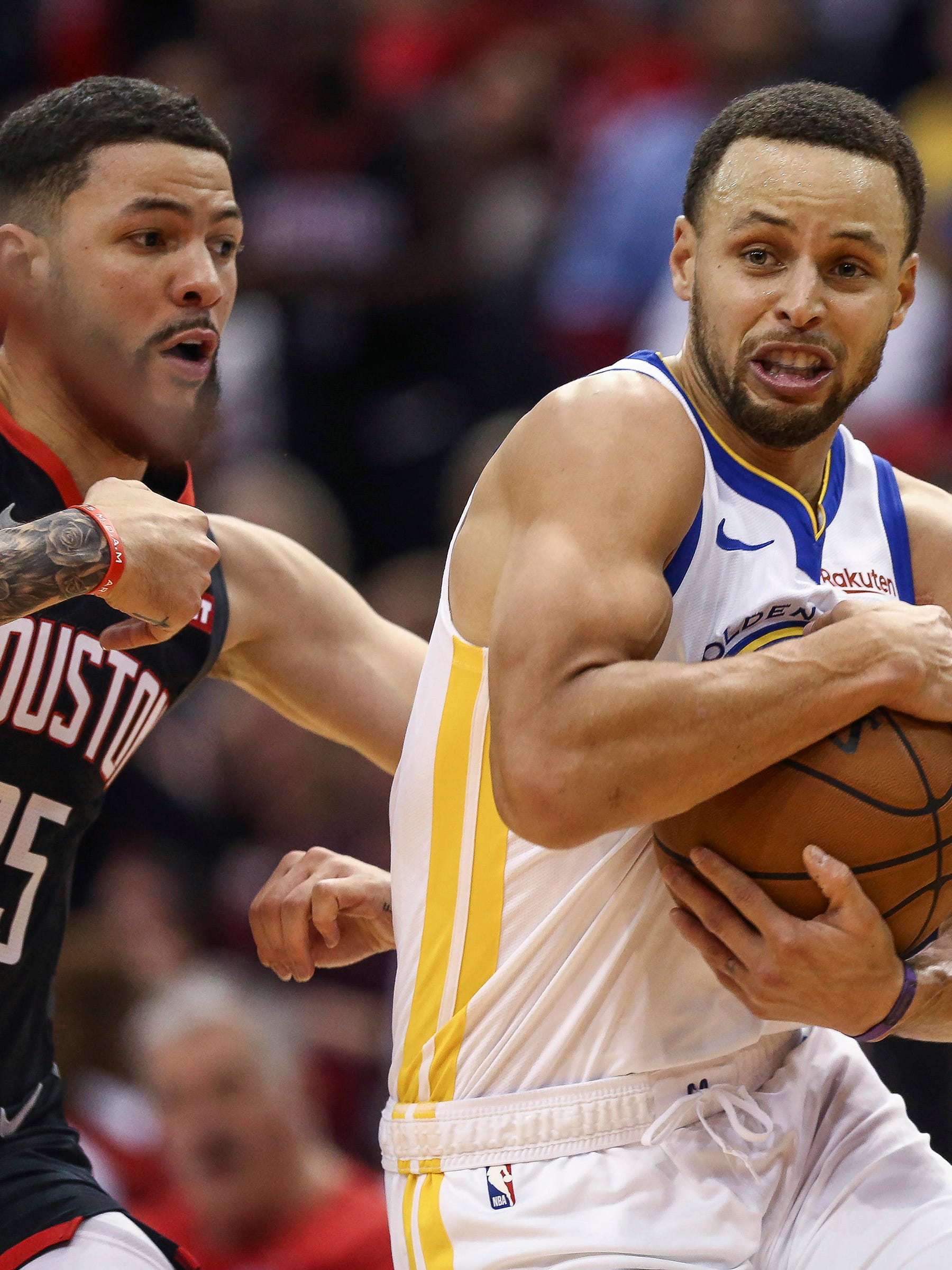 Stephen Curry and the Warriors are trying to secure the No. 1 seed in the Western Conference.