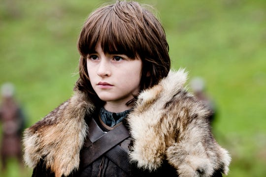 "Isaac Hempstead-Wright as Bran Stark in the ""Game of Thrones"" episode ""Winter is Coming."""