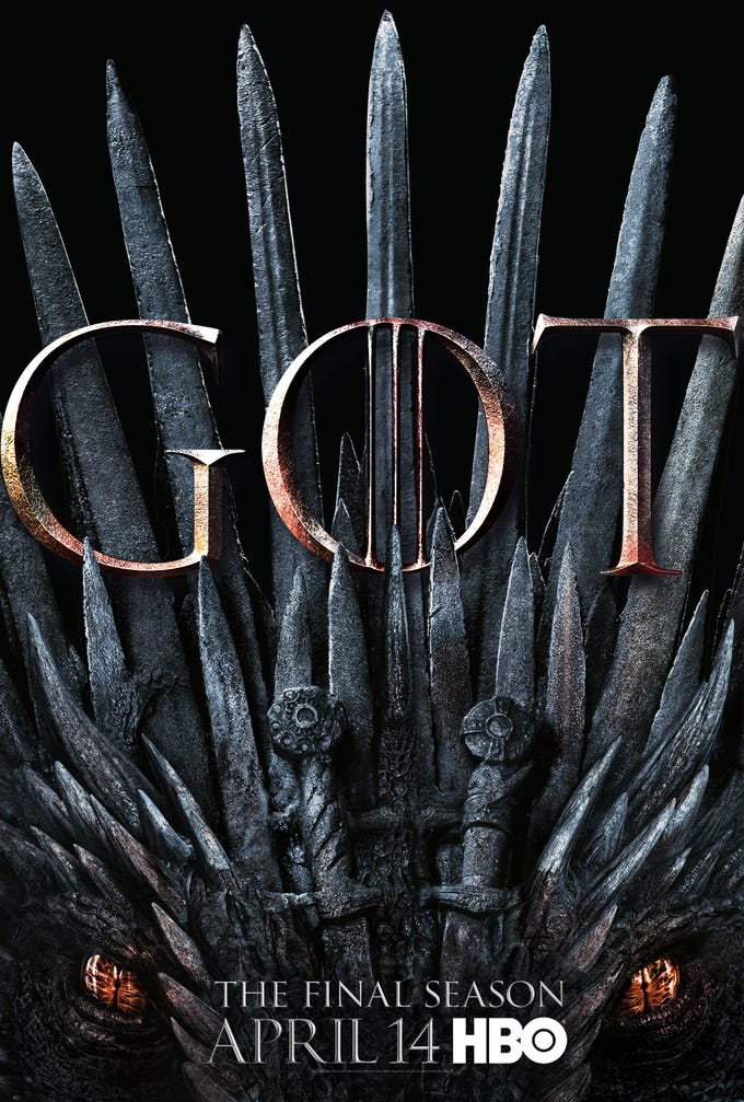 """""""Game of Thrones"""" Season 8 is coming April 14 (9 EST/PST), and it sure looks a lot like Season 1. But who will finally sit on the Iron Throne? Scroll through to see all the character posters from HBO."""