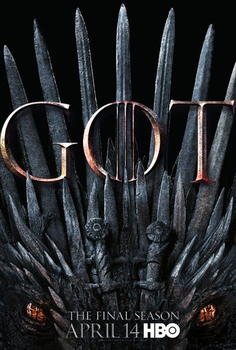 """Game of Thrones"" Season 8 is coming April 14 (9 EDT/PDT), and it sure looks a lot like Season 1. But who will finally sit on the Iron Throne? Scroll through to see all the character posters from HBO."