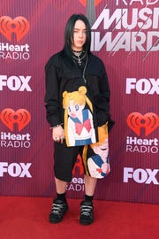 LOS ANGELES, CALIFORNIA - MARCH 14: Billie Eilish attends the 2019 iHeartRadio Music Awards which broadcasted live on FOX at Microsoft Theater on March 14, 2019 in Los Angeles, California. (Photo by Frazer Harrison/Getty Images) ORG XMIT: 775279819 ORIG FILE ID: 1135862980