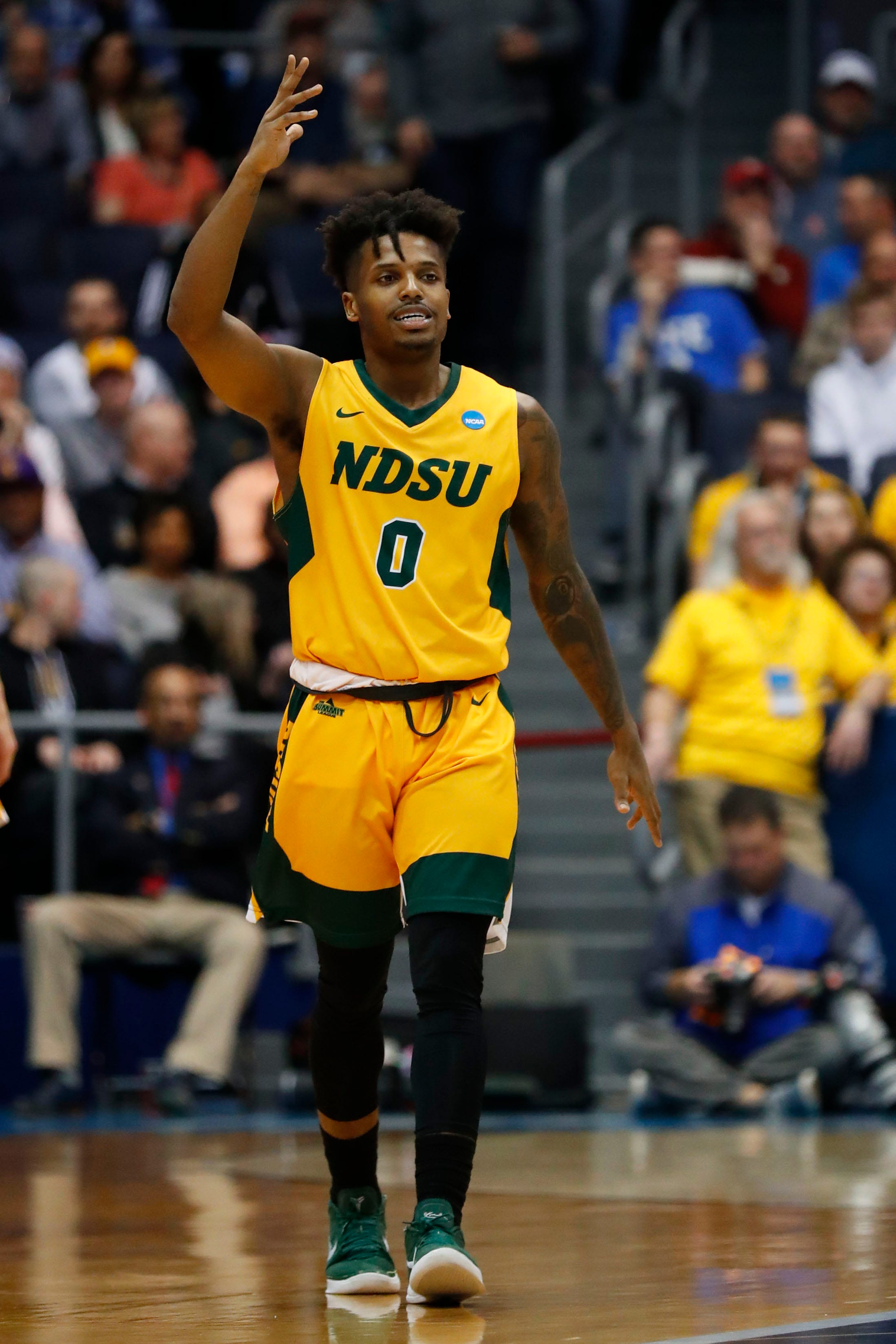 North Dakota State beats North Carolina Central in First Four to set up matchup with Duke