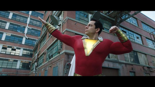 Zachary Levi brings superhero to life in Shazam trailer