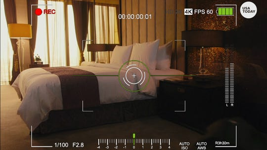 How to check for hidden cameras in your hotel room or vacation rental