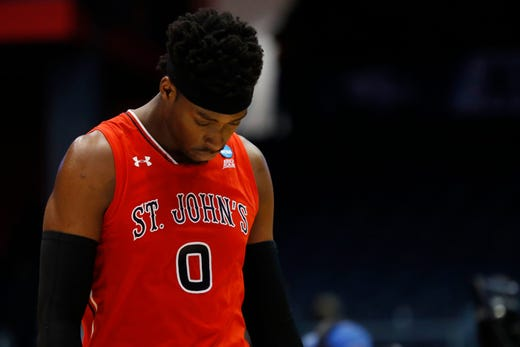 First Four: St. John's loses to Arizona State, 74-65.