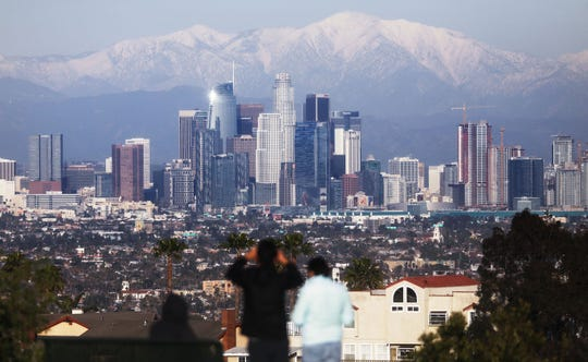 Downtown Los Angeles is fine. It was not hit by a meteor or an alien invasion. The Los Angeles Police Department said a citizen-discovered meteor was actually part of a movie shoot.