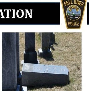 Massachusetts police found swastikas and anti-Semitic graffiti at the Fall River cemetery and believe the incident occurred on March 16 or early on March 17, according to a Tuesday social media post.