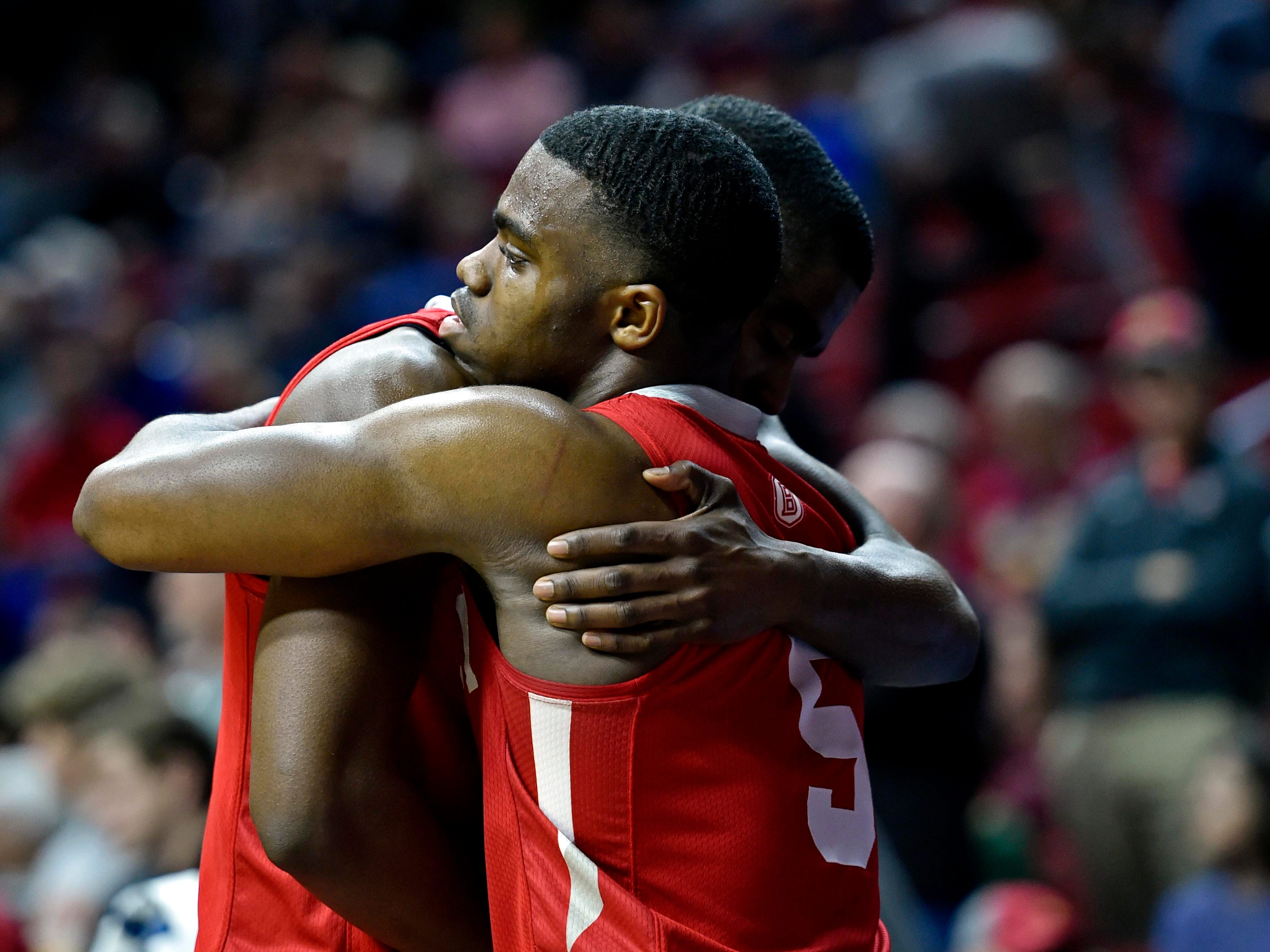 First round: No. 15 Bradley loses to No. 2 Michigan State, 76-65.