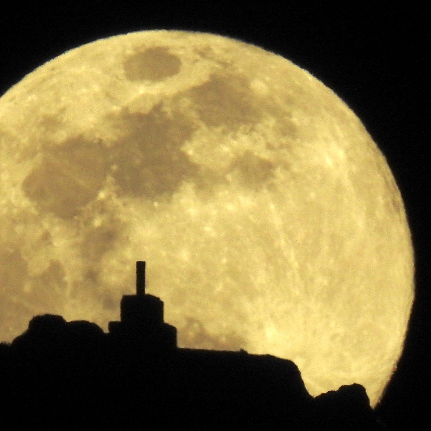 Best space photos of the week: Super worm equinox moon