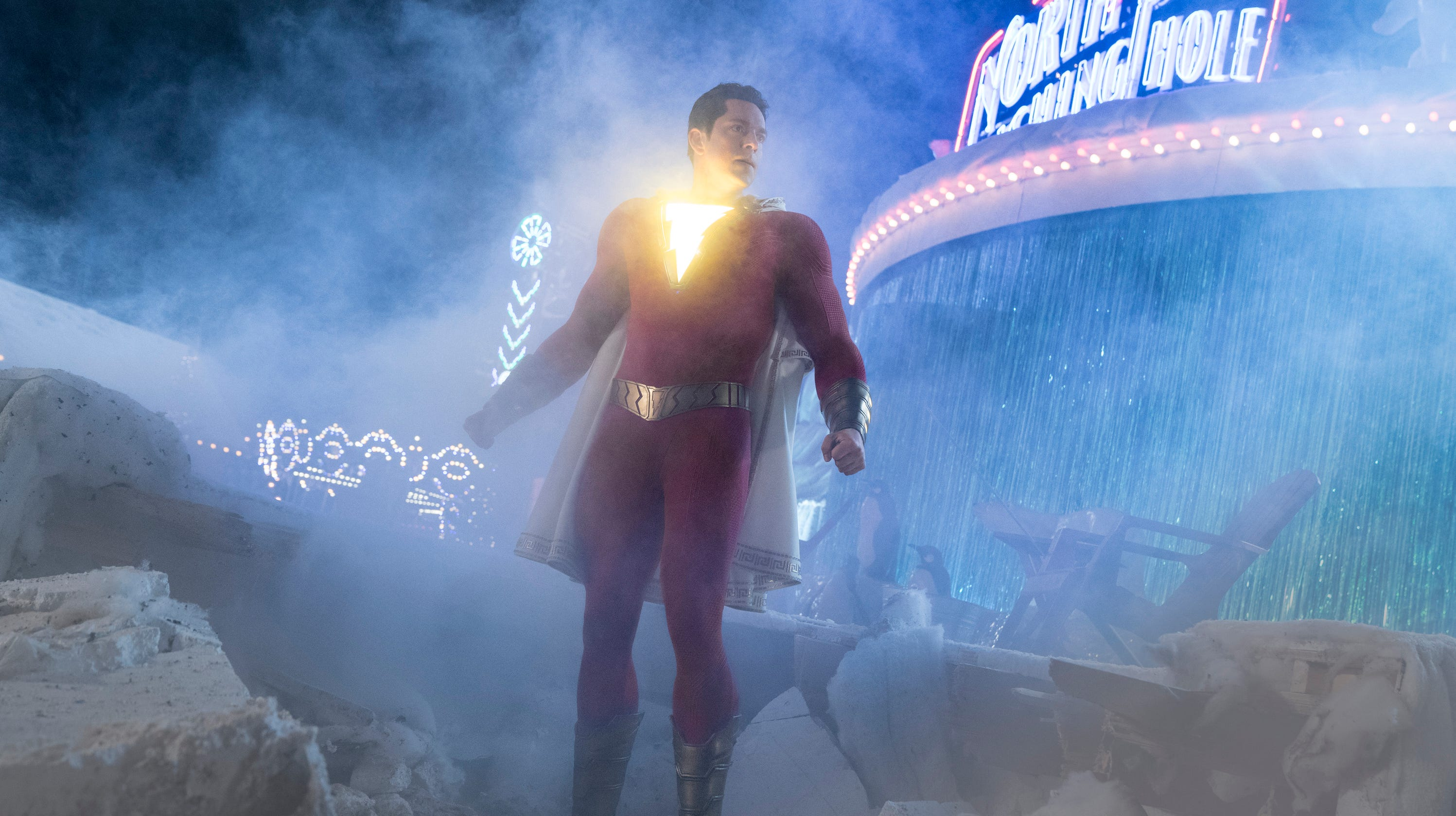 Review: 'Shazam!' finds lightning in a bottle with Zachary Levi's family-friendly superhero