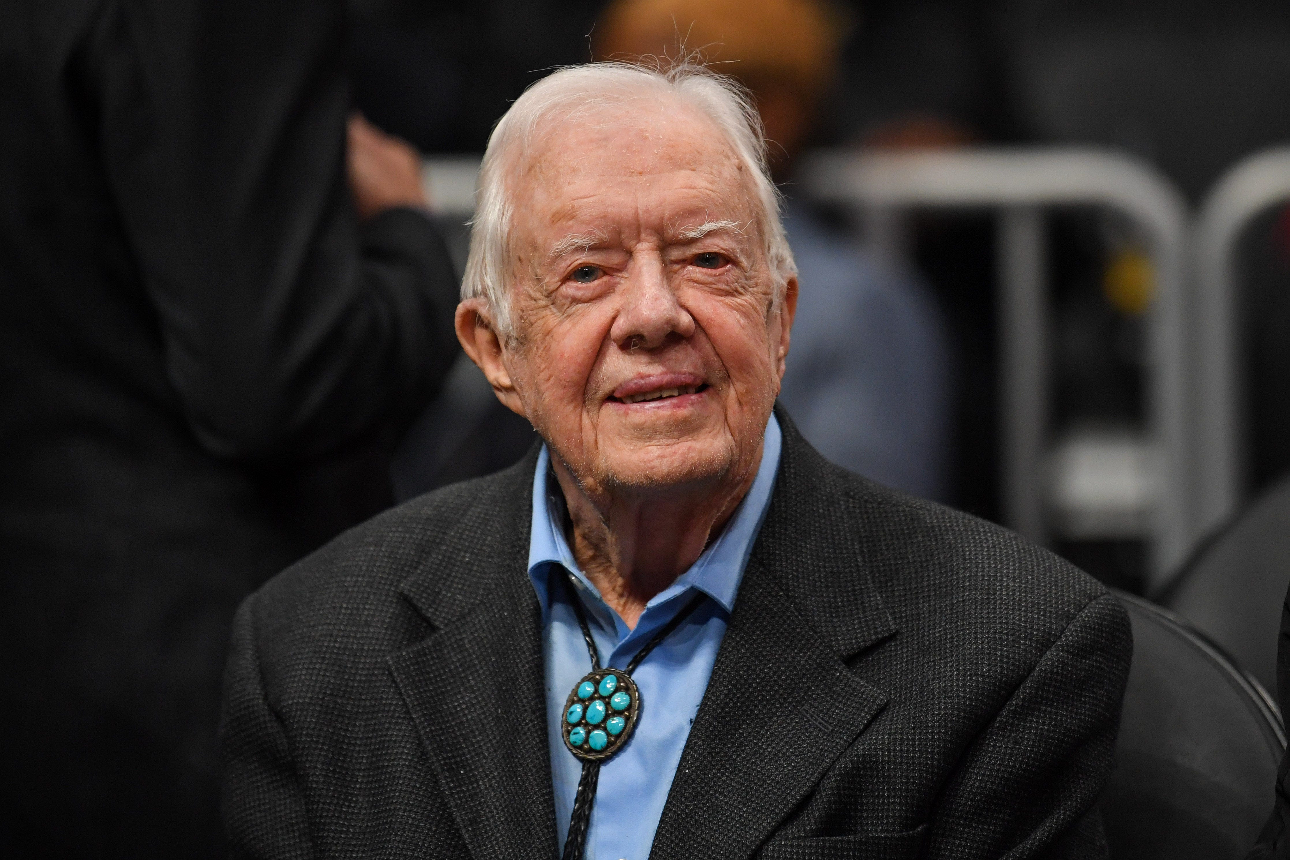 Jimmy Carter to become the oldest living former US president in history on Friday
