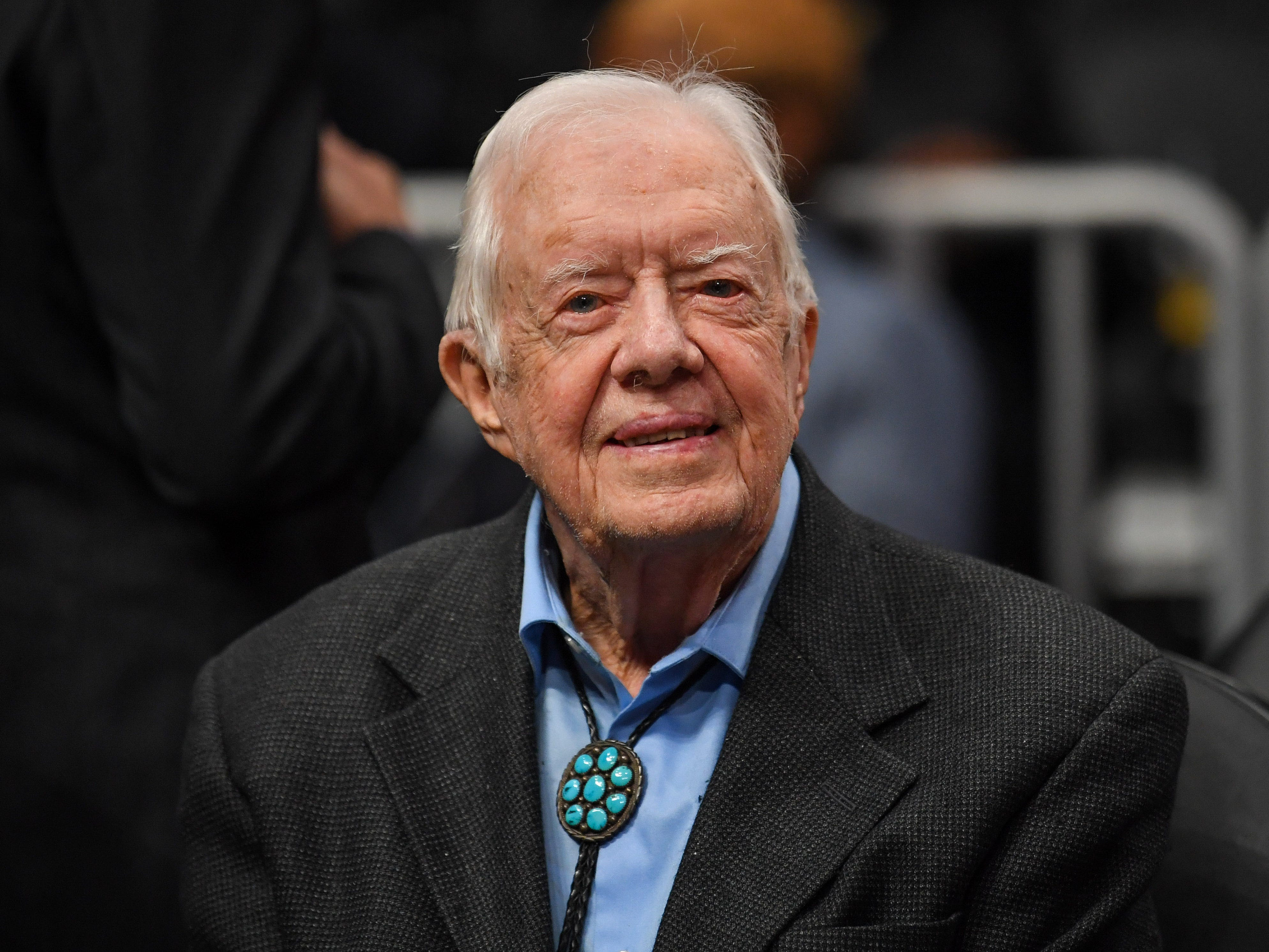 Jimmy Carter becomes the oldest living former US president in history