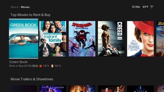 As with other services you can buy or rent movies and TV shows through Comcast from Xfinity Flex.